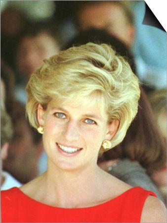 Princess of Wales Visits Rehabilitation Centre in Sydney November 1996 Art