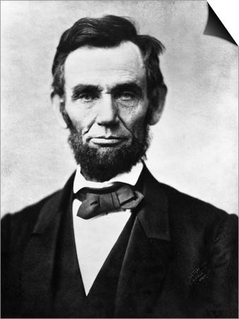 Abraham Lincoln, 1863 Art by Alexander Gardner