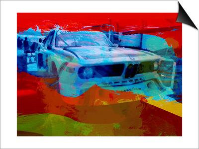 Bmw Laguna Seca Prints by  NaxArt
