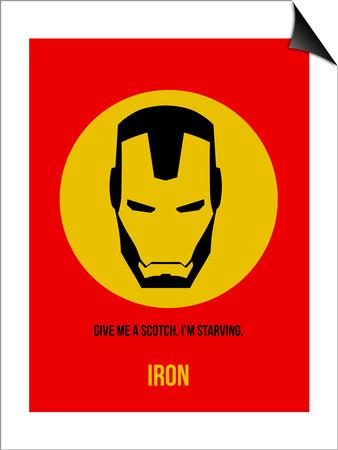 Iron Poster 1 Print by Anna Malkin