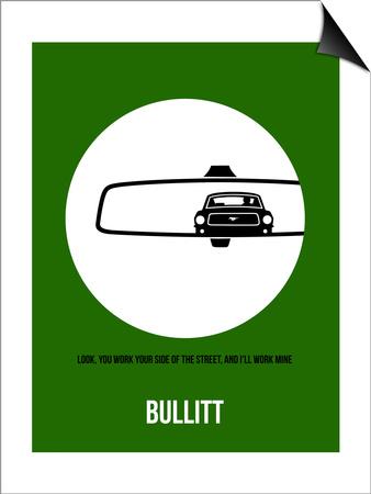 Bullitt Poster 2 Art by Anna Malkin