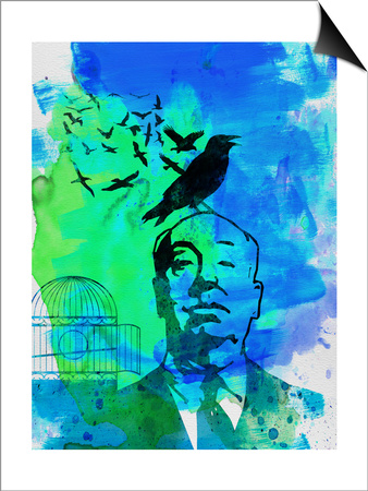 Birds Watercolor Prints by Anna Malkin