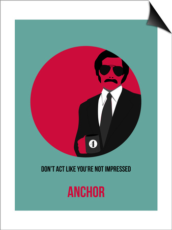 Anchor Poster 1 Prints by Anna Malkin