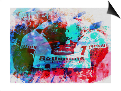 Porsche 917 Rothmans 2 Prints by  NaxArt