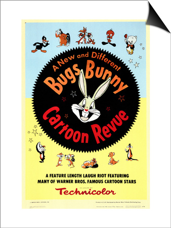 Bugs Bunny A Cartoon Revue, 1953 Print