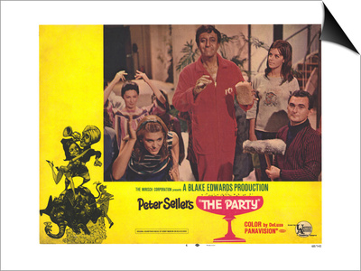 The Party, 1968 Posters