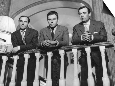 Charles Aznavour, Etienne Bierry and Jean-Louis Trintignant: Horace 62, 1962 Prints by Marcel Dole