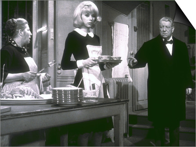 Jean Gabin and Mireille Darc: Monsieur, 1964 Prints by Marcel Dole