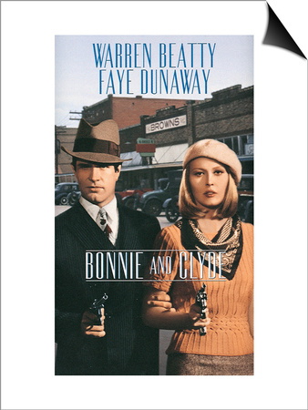 Bonnie and Clyde, 1967 Prints