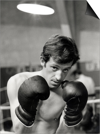 Jean-Paul Belmondo, June 21, 1960 Prints by Luc Fournol