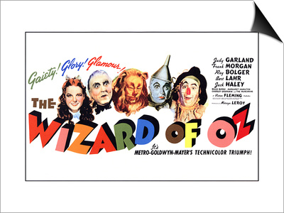 The Wizard of Oz, 1939 Art