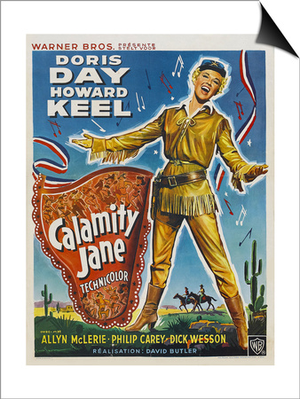 Calamity Jane, 1953 Art