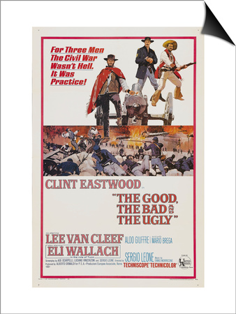 The Good, The Bad and The Ugly, 1966 Posters