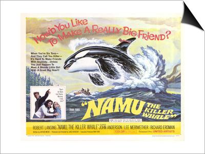 Namu, The Killer Whale, 1966 Prints