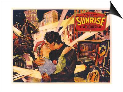 Sunrise, 1927 Art