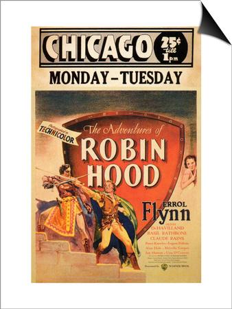 The Adventures of Robin Hood, 1938 Art
