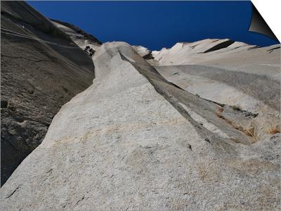 Climbing the Muir Wall at El Capitan, Yosemite National Park Prints by Michael Brown