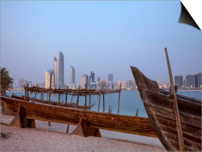 Abu Dhabi, United Arab Emirates, Middle East Art by Angelo Cavalli