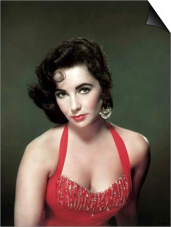 Elizabeth Taylor 1953 Poster