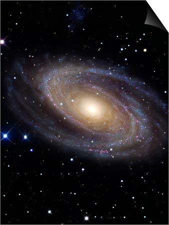 Messier 81 Art by  Stocktrek Images