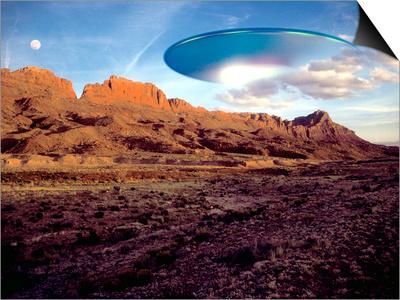 UFO Prints by Detlev Van Ravenswaay