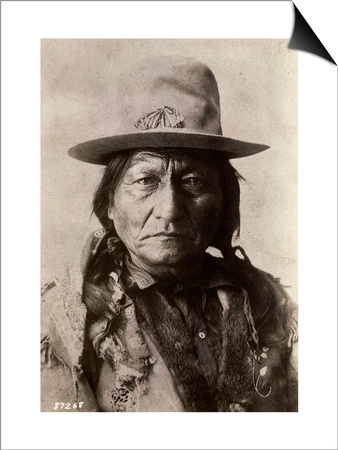 Sitting Bull (Tatanka Iyotake) 1831-1890 Teton Sioux Indian Chief Art