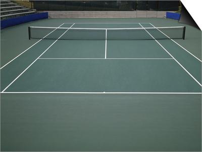 Tennis Court Art