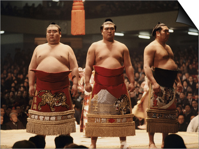Sumo Wrestler Posters