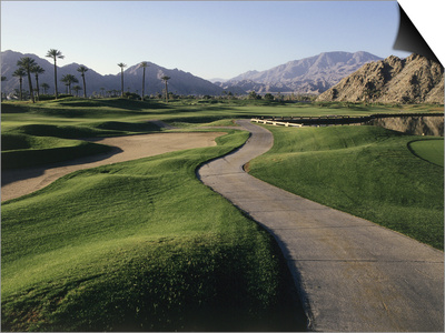 La Quinta Golf Course, California, USA Posters