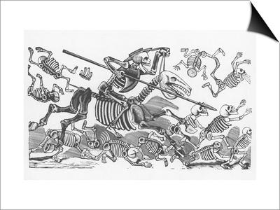 Posada: Don Quijote Prints by Jose Guadalupe Posada