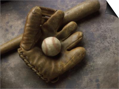 Baseball Still Life Prints