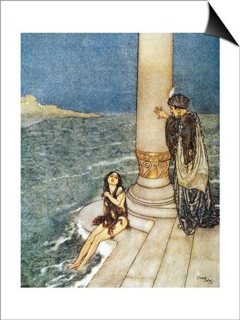 Andersen: Little Mermaid Prints by Edmund Dulac
