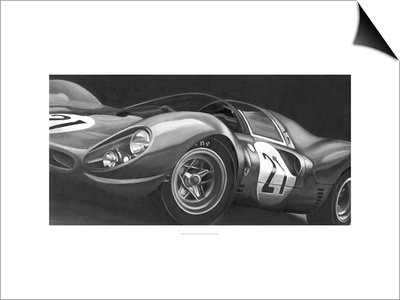 Vintage Racing II Posters by Ethan Harper