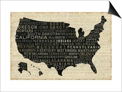 USA V Prints by  Pela