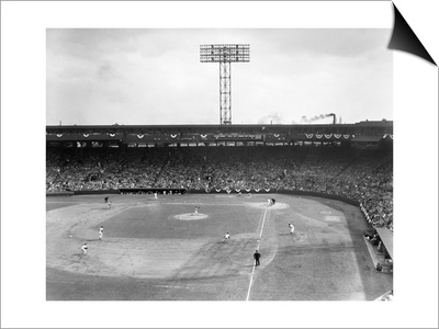Baseball: Fenway Park, 1956 Prints