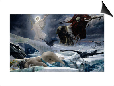 Ahasuerus at the End of the World Art by Adolph Hiremy-Hirschl