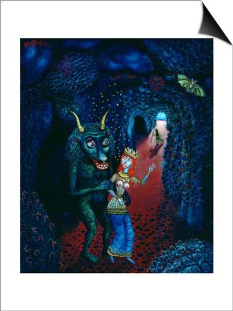 The Minotaur, 1997 Poster by Tamas Galambos