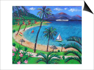 Caribbean Prints by Sara Hayward