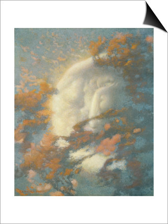 Pack Clouds Away and Welcome Day Prints by Edward Robert Hughes