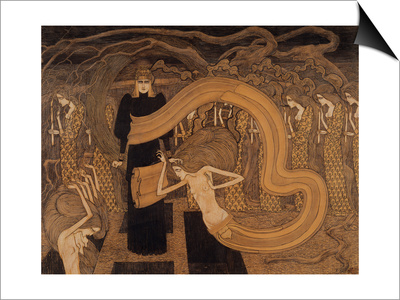 Fatality, 1893 Prints by Jan Theodore Toorop
