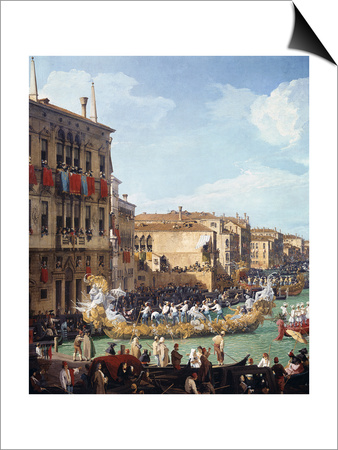 Carnival Art by  Canaletto