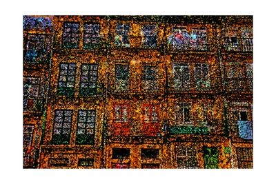 Old Houses Giclee Print by Andre Burian