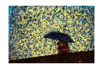 Raining Giclee Print by Andre Burian