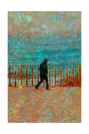 Walking Giclee Print by Andre Burian