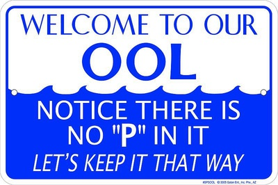 Welcome To Our Ool Tin Sign