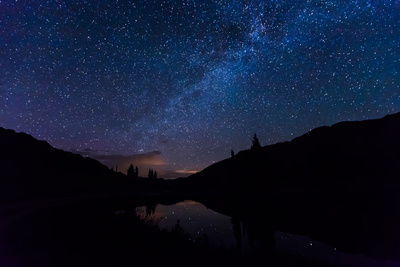Illuminated by Starlight Photographic Print by Hansrico Photography