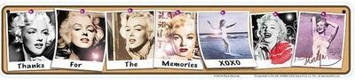 Marilyn Memories Tin Sign