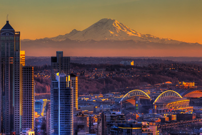 Seattle Photographic Print by Alaska Photography