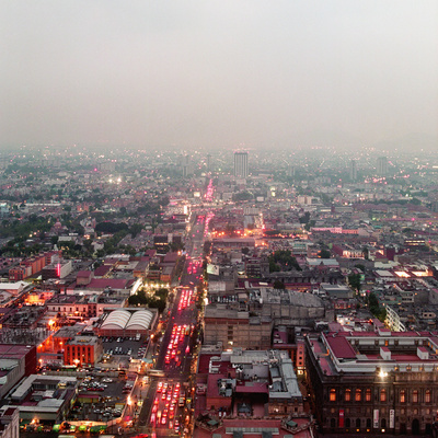 Aerial View of Mexico City Photographic Print by Jasper James