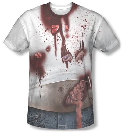 Zombie Slob Costume Tee Sublimated